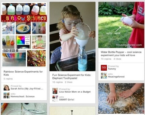 Top Pinterest Tips For Parents: Inspiring Kids To Learn - dot complicated | Pinterest | Scoop.it
