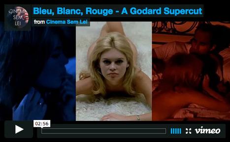 """Bleu, Blanc, Rouge"": a Striking Supercut of the Vivid Colors in Jean-Luc Godard's 1960s Films | LittArt | Scoop.it"