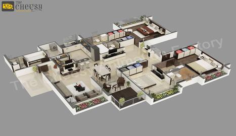 Isometric Images   3D Floor Plan   Cheesy animation   Scoop.it