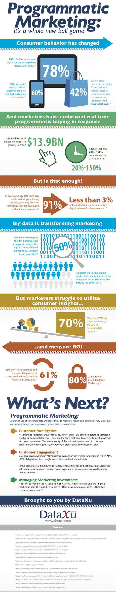 Programmatic Marketing Infographic by Dataxu | RTB | Scoop.it