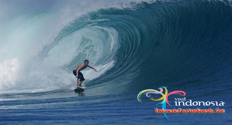 Plengkung Beach The Seven Giant Waves Wonder - Indonesia Tourism Board | Dwell Articles | Scoop.it