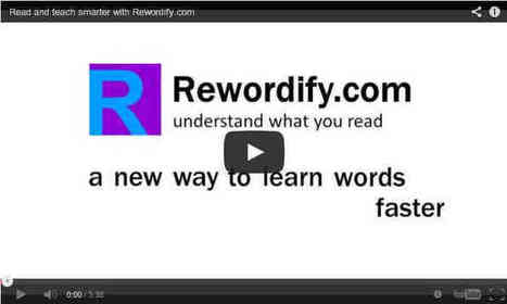 Rewordify.com: Understand what you read | eLearning | Scoop.it