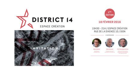District 14 – Espace Création | HES-SO Valais-Wallis | Scoop.it