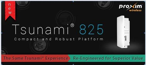 Launched! New unlicensed compact radio platform – Tsunami® 825 Series | Newsletter | Scoop.it