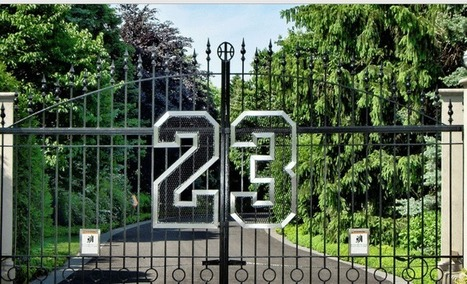 Michael Jordan's Chicago mansion is going up for auction - Front Page Buzz   Sports   Scoop.it