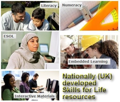 Nationally (UK) developed Skills for Life resources | technologies | Scoop.it