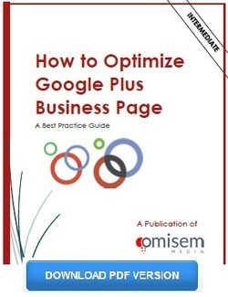 How to Optimize Google Plus Business Page: A Best Practices Guide - Omisem