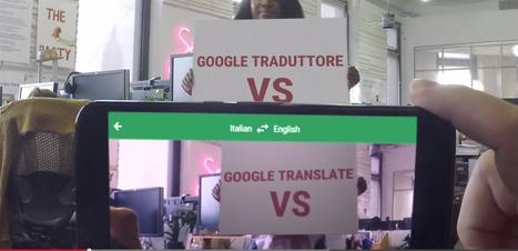 Google Traduction : 20 langues de plus pour la traduction visuelle sous Android et iOS | Geeks | Scoop.it