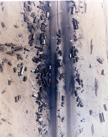 Highway of Death, Kuwait. 1991 | Danger News | Scoop.it
