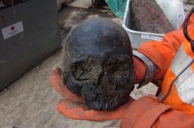 Roman skulls discovered at London's Liverpool Street station | History Extra | Roman History | Scoop.it