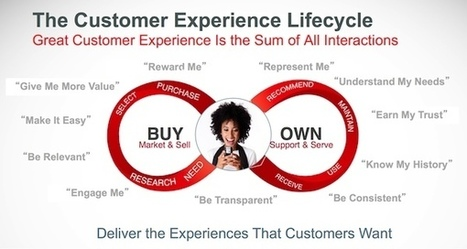 What's the Difference: #Customer #Journey Map vs Customer Lifecycle Map? | New Customer - Passenger Experience | Scoop.it