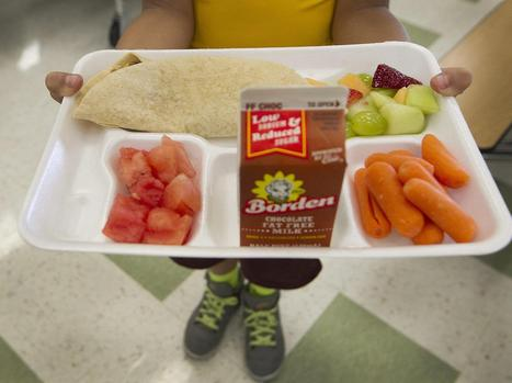 Schools Offer Veggies for Lunch, But Most Kids Don't Bite | TechGuide MashUp | Scoop.it