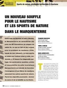 REVUE-ESPACES | Un nouveau souffle pour le nautisme et les sports de nature dans le Marquenterre | Tourisme de randonnées                                                                                                                                                                                 & Sports de nature pour les pros | Scoop.it