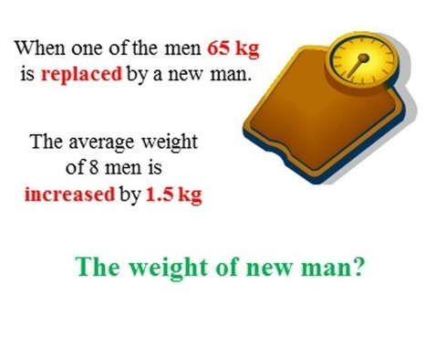 The weight of new man   THE MORE YOU PRACTICE MATHS, THE MORE SURE YOU ARE!   Scoop.it