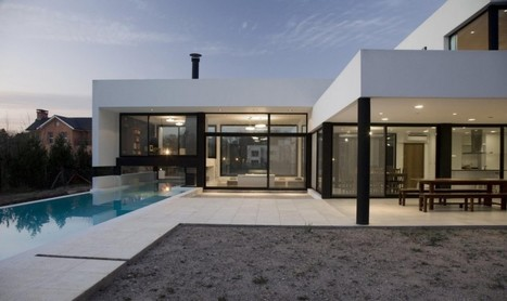 Grand Bell House in Buenos Aires by Andres Remy Arquitectos | Awesome Architecture | Scoop.it