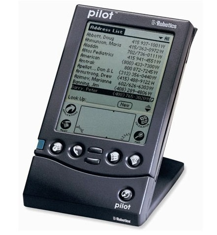 Palm Pilot 1000 | Personal Digital Assistant of our Childhood | Scoop.it