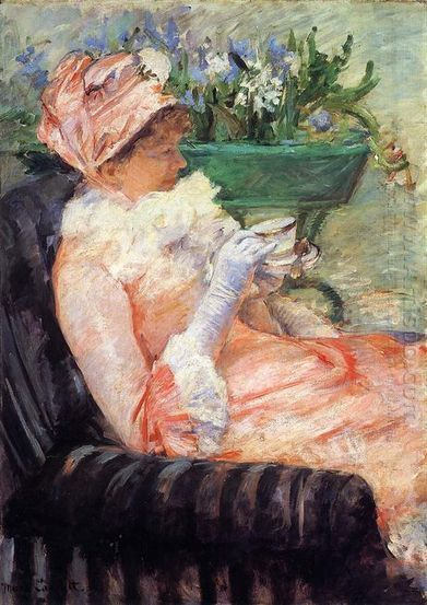 Oil painting reproduction: Mary Cassatt The Cup Of Tea2 - Artisoo.com | arts&oil | Scoop.it