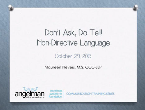 Video of the Week: Supporting AAC Learning Through Non-Directive Language | AAC: Augmentative and Alternative Communication | Scoop.it
