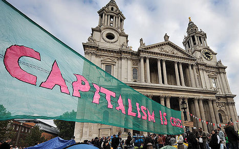 Occupy protesters were right, says Bank of England official - Telegraph   Bank of England   Scoop.it