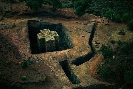 St. George's rock-cut church, Ethiopia | Irish Archaeology | Archaeology Updates | Scoop.it