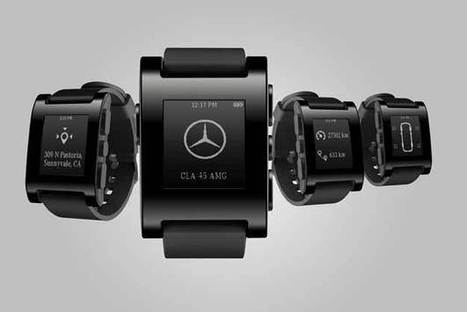 Mercedes Teams Up With Pebble Smartwatch To Create A Fleet Of Connected Cars   International Auto Market Insights   Scoop.it