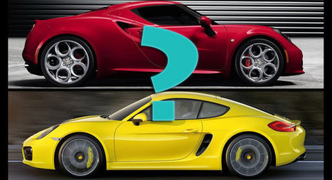 Poll: Which One Would You Go For, the Porsche Cayman or Alfa Romeo 4C? | Everything about cars | Scoop.it