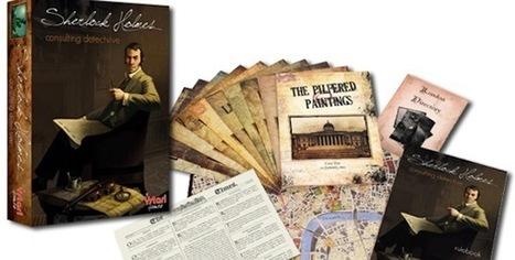 Cardboard Children: Sherlock Holmes | Rock, Paper, Shotgun | Lovecraftian Gaming | Scoop.it