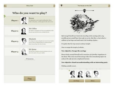 Interactive Storytelling App Versu | screencast tutorial - The Digital Shift | Serial Storytelling | Scoop.it