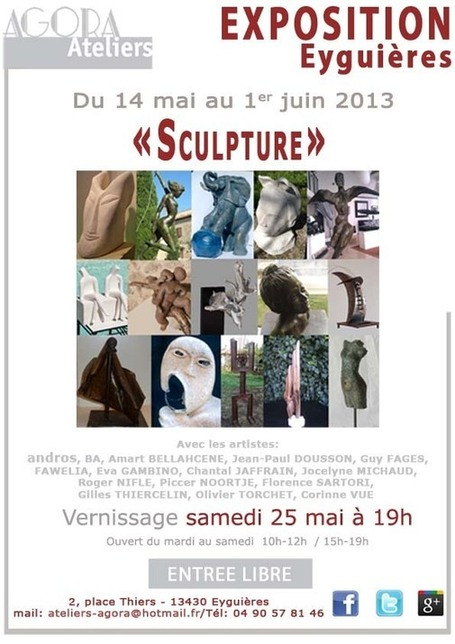 "Exposition ""Sculpture"" aux Ateliers Agora 