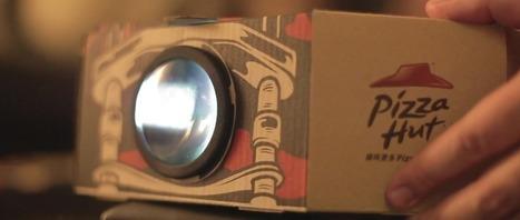 Pizza Hut Packaging : la boîte à pizza qui se transforme en projecteur - ADN | Communication - Publicité | Scoop.it