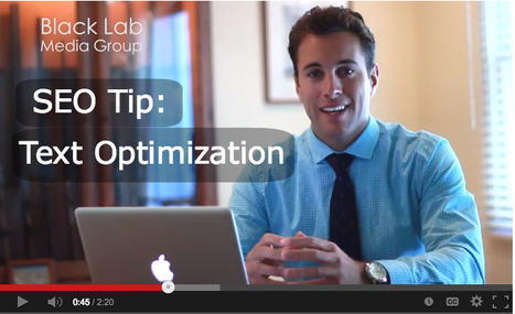 [VIDEO] SEO Tip: Text Optimization | Helping 6-Figure Companies Grow To 7-Figures Online | Scoop.it
