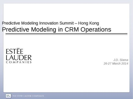Predictive Modelling in CRM Operations | ieOnDemand | Business Education | Scoop.it
