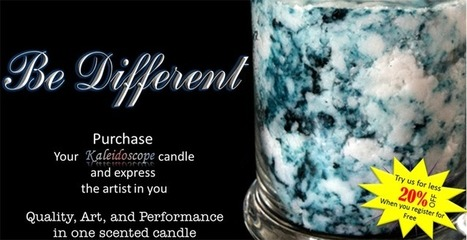 Candlelight Obsession | Kaleidoscope candles | Scented candles | Scented candles | Scoop.it
