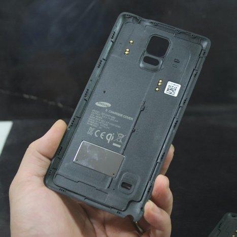 Nắp Pin Samsung Galaxy Note 4 sạc không dây chống xước camera | deptrai | Scoop.it