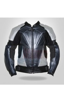 Black & grey full armor jacket | Have a gorgeious look Leather Jackets | Scoop.it