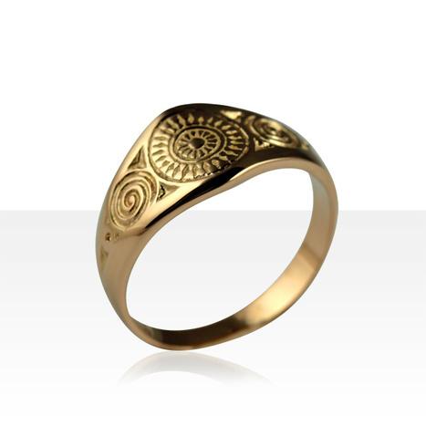 Bague CELTIQUE RONDS BRETONS MM | Or 18 carats | achat bijoux Kelt sur www.terredebijoux.com | Bijoux Celtiques & Bretons KELT | Scoop.it
