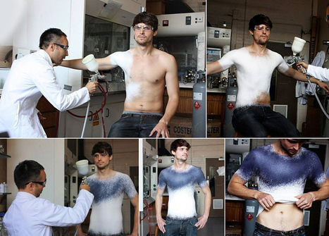 The New Fashion Concept: Designers Create World's First Spray On Cloth | World vision | Scoop.it