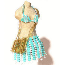 A Blissful Exploration of 3D Textiles on Instructables - 3D Printing Industry   Intriging in Textiles   Scoop.it