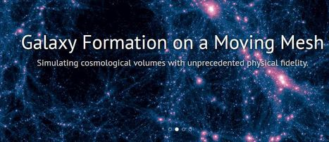 The Illustris cosmological simulation projection | Sciences & Technology | Scoop.it