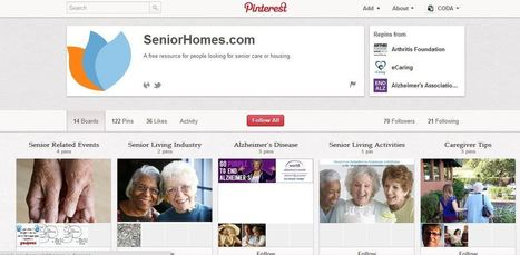 Pin It: 9 Tricks for Using Pinterest as a Senior Living Marketing Tool « SeniorHomes.com | Pinterest | Scoop.it