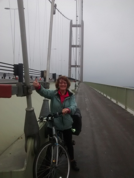 Over the Humber Bridge | The Adventures of Grandma & Grandpa | cycling | Scoop.it