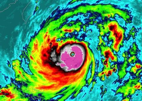 Tropical cyclone intensity shifting poleward, study shows | Sustain Our Earth | Scoop.it