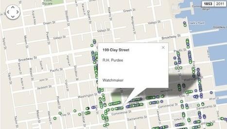 Pastmapper te permite viajar en el tiempo con Google Maps | EDUDIARI 2.0 DE jluisbloc | Scoop.it