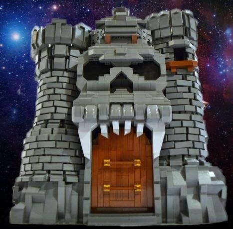 LEGO Grayskull Castle : Une sublime réplique briquée du château des Maîtres de l'Univers | lego | Scoop.it