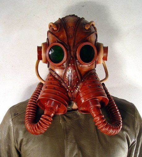 Steampunk Leather Masks   Choose Steampunk   Scoop.it