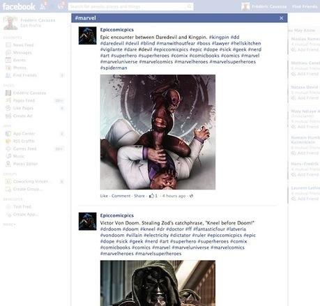Facebook lance ses #hashtags pour reconquérir les annonceurs et augmenter son inventaire publicitaire - MediasSociaux.fr | World tourism | Scoop.it