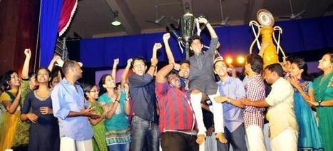 Mar Baselios college lifts the crown at KU youth fete | Engineering, | Scoop.it