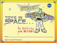 NASA - Buzz Lightyear Toys in Space Activity | Differentiation Strategies | Scoop.it