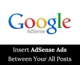 Insert Ads Between Posts In Wordpress | Blogging Crazed | Scoop.it