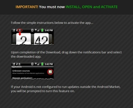 MoboMarket Gets New Users via Scam | Android | Scoop.it